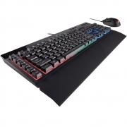 Kit Teclado e Mouse Gamer Corsair K55 + Harpoon RGB CH-9206115-BR - PC FLORIPA