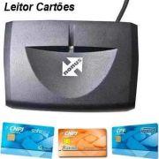 Leitor de Smart Card Certificado Digital - e-CPF / e-CNPJ / OAB / NF-E
