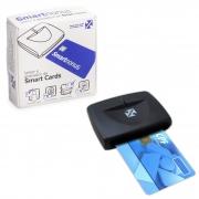 Leitor de Smart Card Certificado Digital SmartNonus Nonus - e-CPF / e-CNPJ / OAB / NF-E - PC FLORIPA