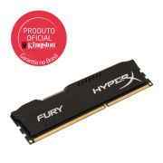 Memória 8 GB DDR3 1333 Kingston - HyperX Fury Azul - HX313C9FB/8 - PC FLORIPA