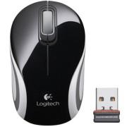 Mini Mouse Logitech S/ Fio M187 Preto