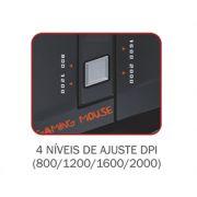 Mouse K-Mex Gamer MO-D835 USB 7 Botões - PC FLORIPA