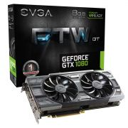 Placa de Vídeo 8GB PCI-E Nvidia Geforce GTX1080 FTW - 256-Bit - PC FLORIPA