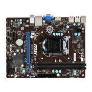Placa Mãe 1150 MSI H81M-E33 - PC FLORIPA