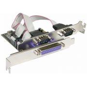 Placa PCI Serial 2 portas e 1 porta Paralela - PC FLORIPA