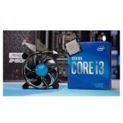 Processador Intel Core i3-10100F, Cache 6MB, 4.30 GHz, LGA 1200 - BX8070110100F - PC FLORIPA