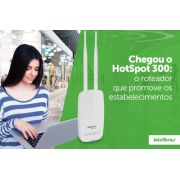 Roteador Wireless Intelbras HOTSPOT 300 - PC FLORIPA