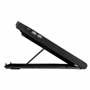 Suporte refrigerado gamer para notebook Power Cooler Luigia AC267 c/ LED - PC FLORIPA
