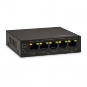 Switch Intelbras 10/100 com 4 portas SF500 PoE - PC FLORIPA