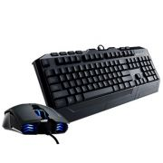Teclado e Mouse Cooler Master Storm Devastator Com Led Azul - PC FLORIPA