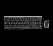 Teclado e Mouse Logitech MK270 sem fio preto ABNT2 Multimídia - 920-004433 - PC FLORIPA