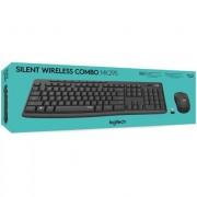 Teclado e Mouse Logitech MK295 Silent Wireless Combo - ABNT2 - 920-009793 - PC FLORIPA