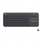 Teclado Sem Fio Logitech K400 Plus com Touchpad ABNT2 920-007125 - PC FLORIPA