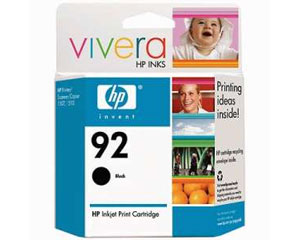 Cartucho HP 9362 (92) Preto Original - PC FLORIPA