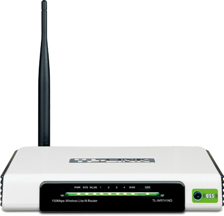 Roteador Wireless TP-Link TL-WR740N 150Mbps - PC FLORIPA