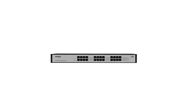 Switch 24 portas Intelbras 10/100/1000 Switch - SG2400QR - PC FLORIPA