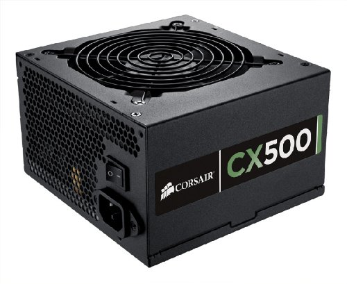 Fonte ATX Corsair 500W Real - CMPSU-500CX - PFC Ativo - 80 Plus Bronze - PC FLORIPA