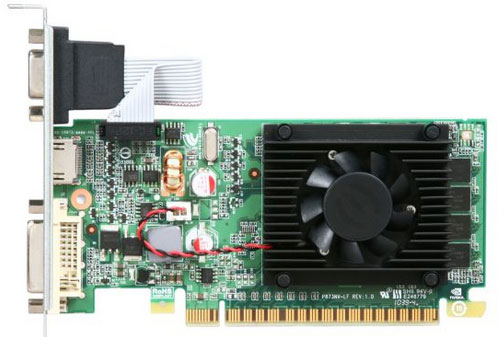 Placa de Vídeo 1GB PCI-E Nvidia Geforce GT210 - 64-Bit - PC FLORIPA