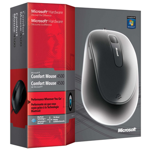 Mouse Microsoft Optical Confort 4500 - PC FLORIPA