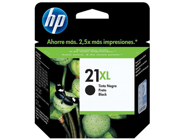 Cartucho HP C9351CB (21XL) Preto Original - 2,5 Vezes mais tinta - PC FLORIPA