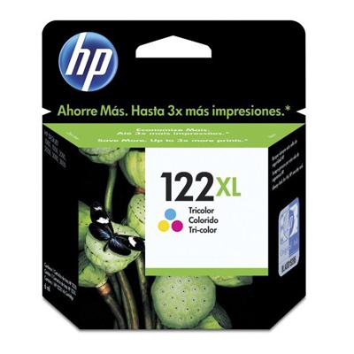 Cartucho HP CH564HB (122XL) Colorido Original - 2,5 Vezes mais tinta - PC FLORIPA