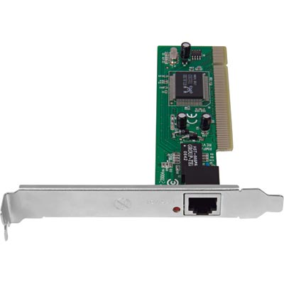 Placa de Rede PCI 10/100 Mbps Intelbras - PEF132 - PC FLORIPA