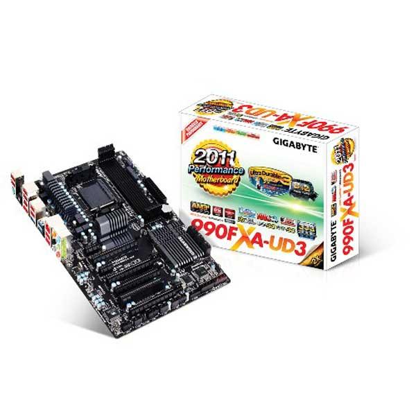 Placa Mãe AM3 Gigabyte GA-990FXA-UD3 - PC FLORIPA