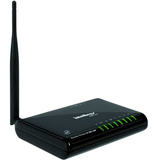 Roteador Wireless Intelbras WIN240 150Mbps - 500mW - PC FLORIPA