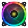 Cooler P/ Gabinete 120mm VX Gaming V.Ring VRINGRGB LED RGB