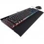 Kit Teclado e Mouse Gamer Corsair K55 + Harpoon RGB CH-9206115-BR