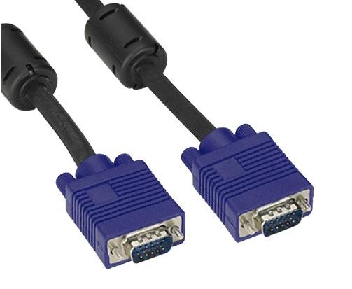 Cabo P/ Monitor DB15M x DB15M 5 Metros Feasso - PC FLORIPA