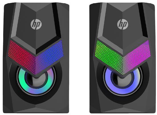 Caixa de Som HP DHE-6000 RGB USB+P2 - PC FLORIPA