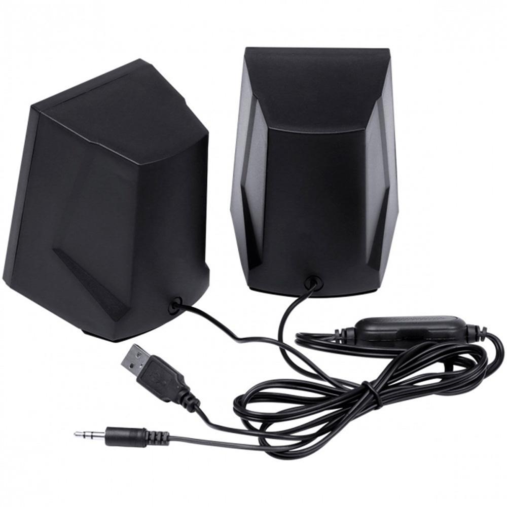Caixa de Som VX Gaming Crusade 2.0 USB+P2 LED - PC FLORIPA