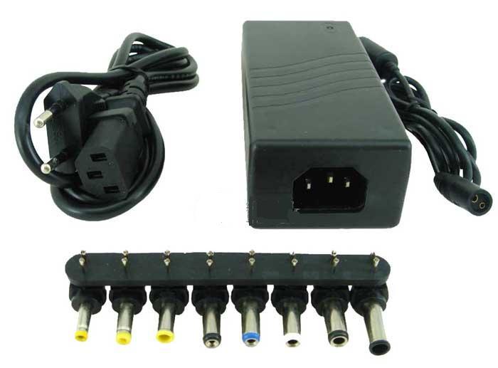 Carregador / Fonte P/ Notebook 100W New Drive - Universal (12V / 15V / 16V / 18V / 19V / 20V / 22V / 24V) - PC FLORIPA