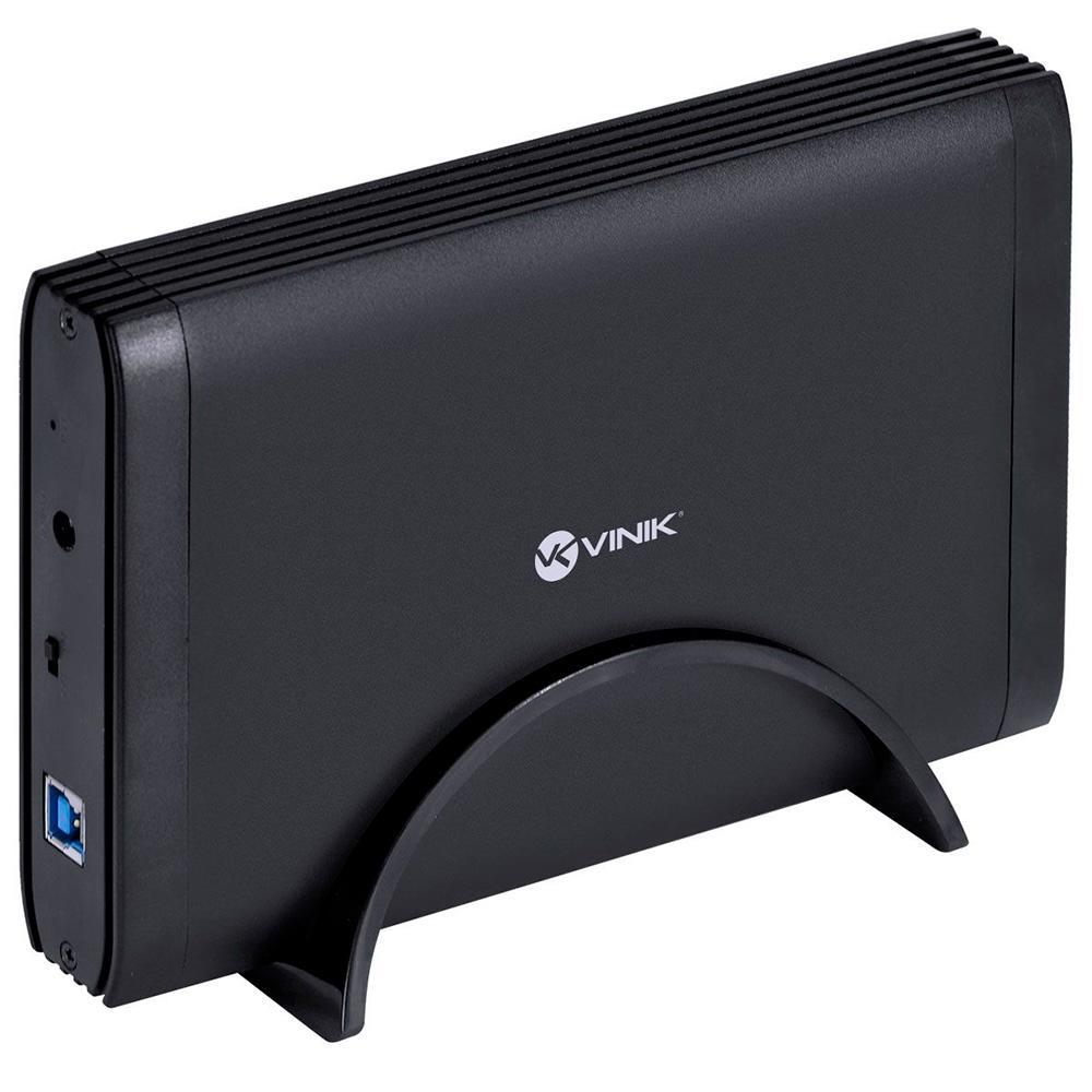 Case Vinik para HD 3.5´, USB 3.0, Preto - CH35-30O (29858) - PC FLORIPA