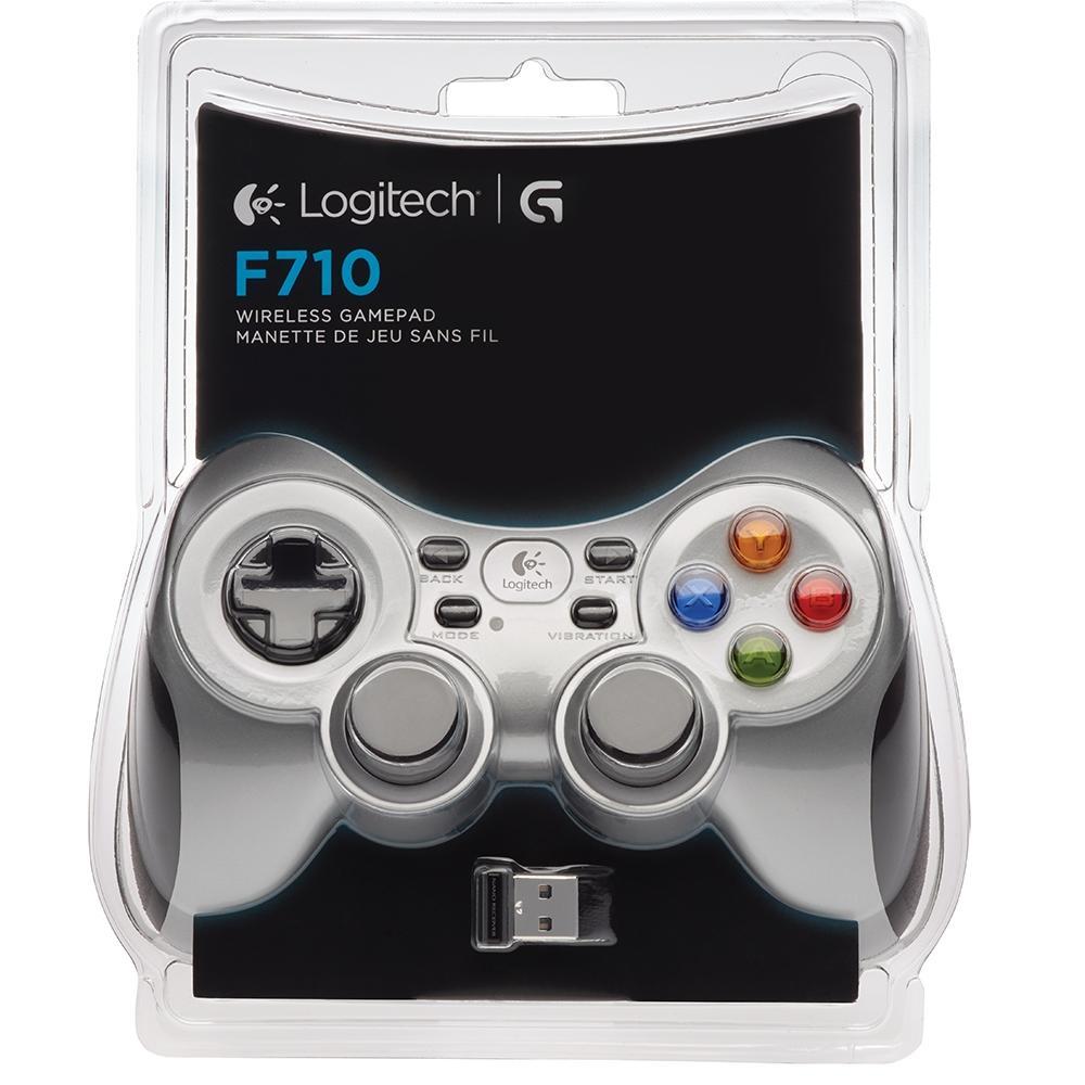 Controle de Jogos sem fio Logitech F710 - 940-000117 - PC FLORIPA