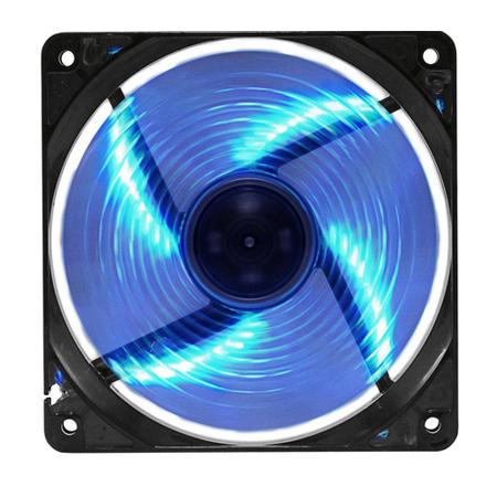 Cooler P/ Gabinete 120mm G-Fire LED Azul EW-2252-EGEX - PC FLORIPA