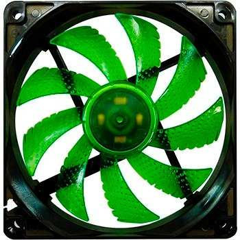 Cooler P/ Gabinete G-Fire 120x120 EW2252LGEX LED Verde - PC FLORIPA