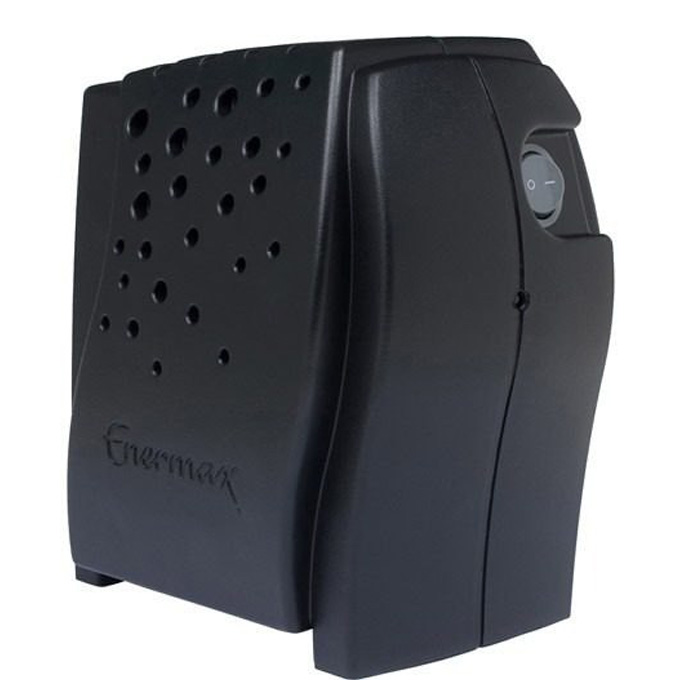 Estabilizador Enermax 300VA EXXA3 Preto - 21.03.334P - PC FLORIPA