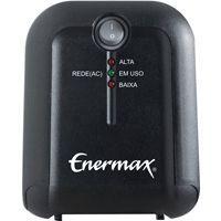 Estabilizador Enermax 500VA EXS Preto - 21.05.058P - PC FLORIPA