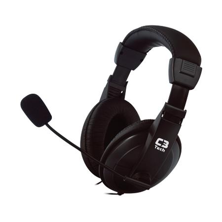 Fone de Ouvido C/ Microfone C3Tech Voicer Confort 2260ARC - PC FLORIPA