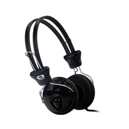 Fone de Ouvido C/ Microfone C3Tech Voicer Tricerix MI-2280ERC - PC FLORIPA