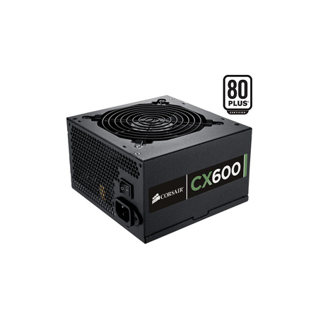 Fonte ATX Corsair 600W Real - CMPSU-600CX - PFC Ativo - 80 Plus Bronze - PC FLORIPA