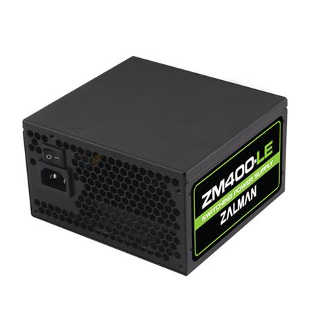 Fonte ATX Zalman 400W Real - PC FLORIPA