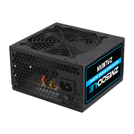 Fonte ATX Zalman 500W Real - PC FLORIPA