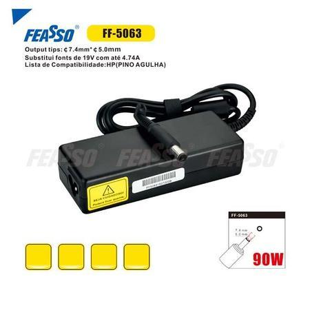 Fonte Compativel Feasso HP/Compaq 19V 4.9A - 7.4X5.0 - PC FLORIPA