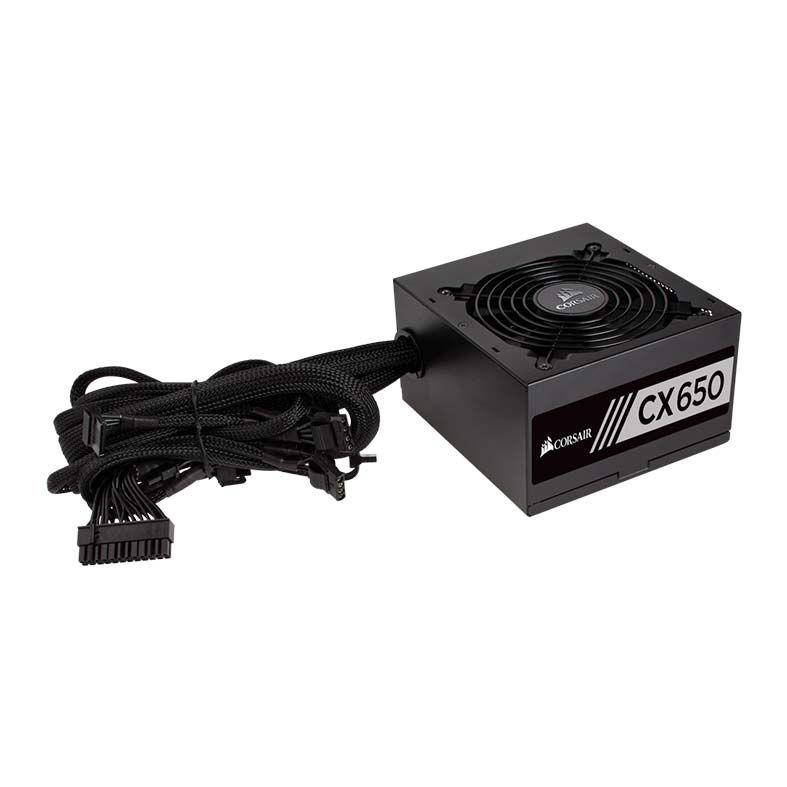 Fonte Corsair 650W 80 Plus Bronze CX650 - CP-9020122 - PC FLORIPA