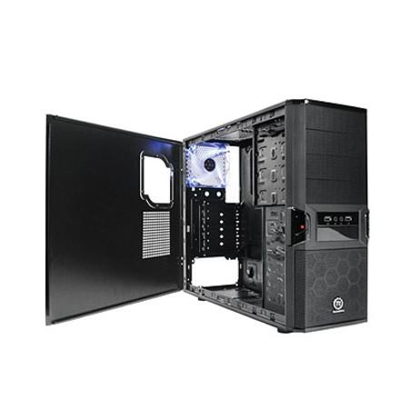 Gabinete ATX Thermaltake V3 Black Edition - VL80001W2Z - PC FLORIPA