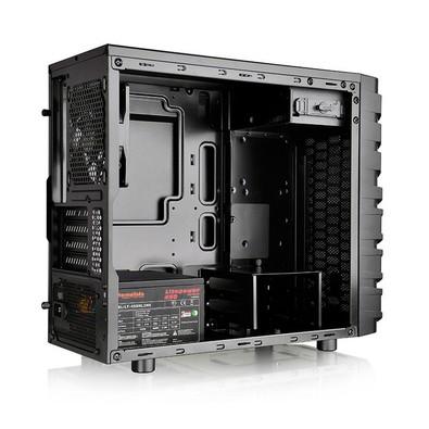 Gabinete ATX Thermaltake VERSA H13 Preto - CA-1D3-00S1NN-00 - PC FLORIPA