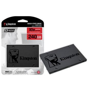HD Kingston SSD 240 GB 2,5´ SATA III - SA400S37/240G - PC FLORIPA